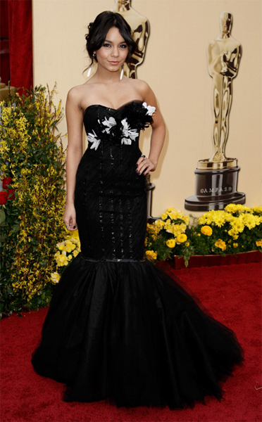 The Oscars 2009: Vanessa Hudgens