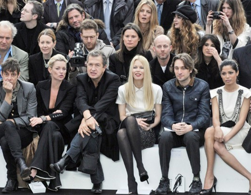 Celebrities descend on Chanel