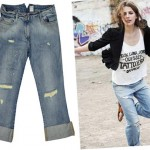Grunge alert: Sass & Bide Destroyed Starting Something Boyfriend Jean