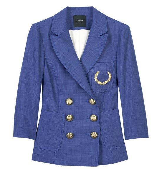 Smythe double breasted blazer: Can you find a blazer more perfect than this?