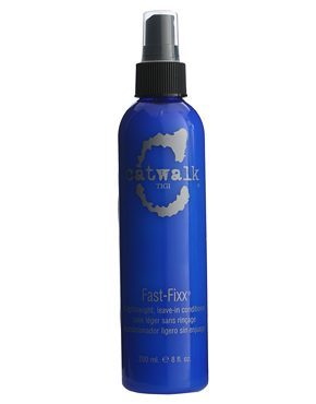 Beauty road test: Tigi Catwalk Fast-Fixx Leave In-Conditioner Spray