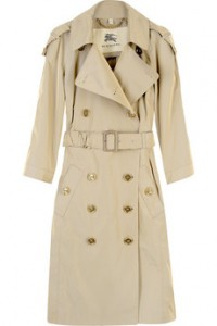 The Eternally Classic Burberry trench