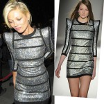 Kate Moss in sci-fi Balmain