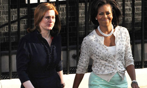 Michelle Obama brings style to London