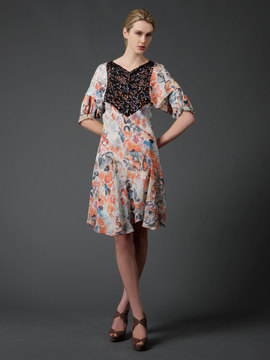 chloe-silk-print-dress