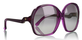 dVb Grape Square Moulded Frame Sunglasses