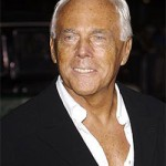 Giorgio Armani is on the road to recovery