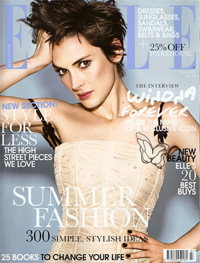 Winona gets an Elle revamp