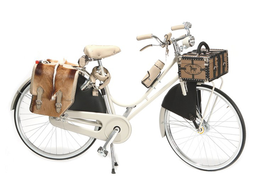Cycling in style with Fendi