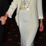 Katie Holmes goes grandma for White House dinner
