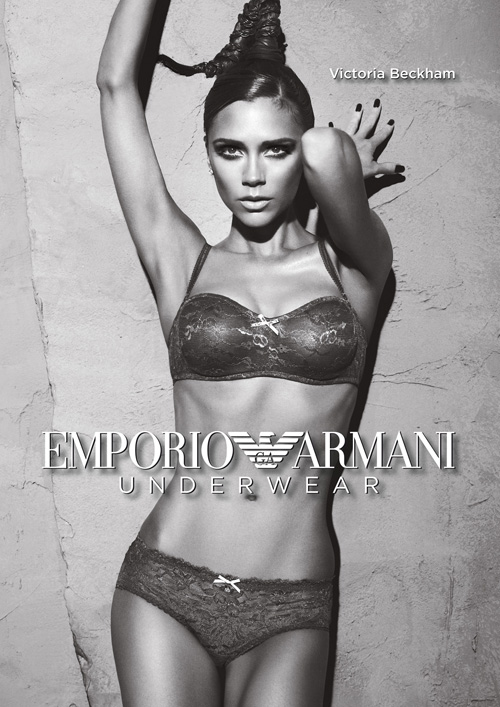 Victoria Beckham sexes up for Armani