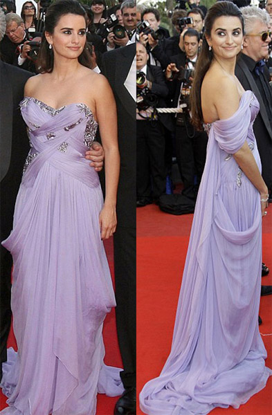 Cannes: Penelope Cruz dazzles in Marchesa
