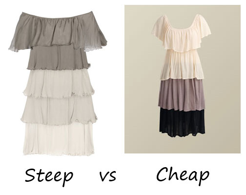 Steep VS Cheap: The Multi-tier trend, luxe or less?