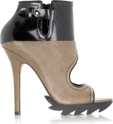 Camilla Skovgaard Peep toe ankle boot