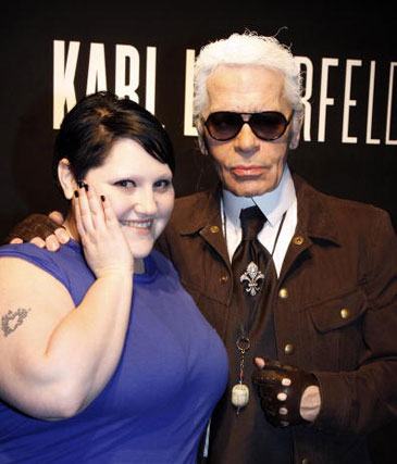 Lagerfeld & Ditto: BFF's forever? Not likely!