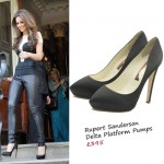 Daily Fashion Fix: Cheryl Cole steps out in Rupert Sanderson