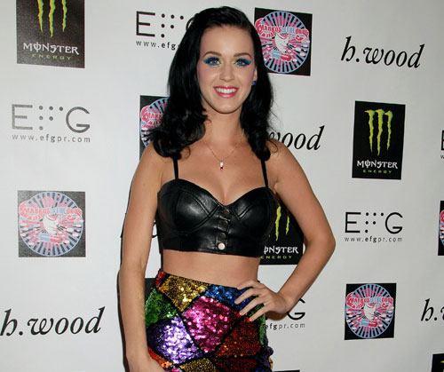 Clothes recycler Katy Perry