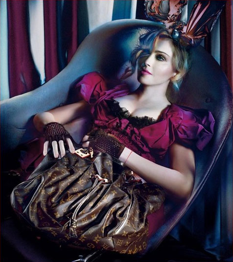 Latest Madonna for Louis Vuitton pics leaked?