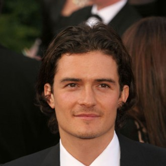 Orlando Bloom celebrates Burberry day