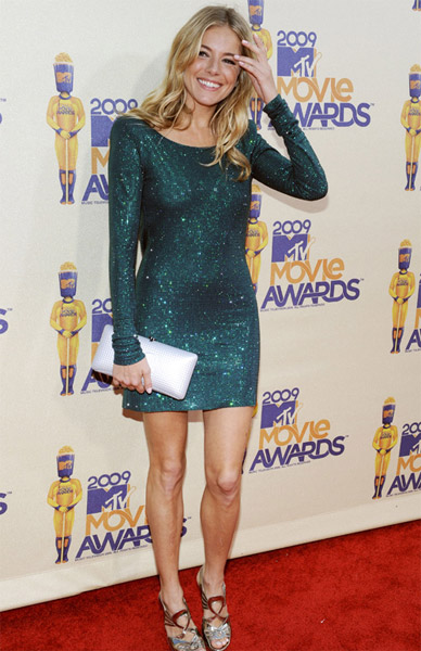 2009 MTV Movie Awards: Sienna Miller in Twenty8Twelve