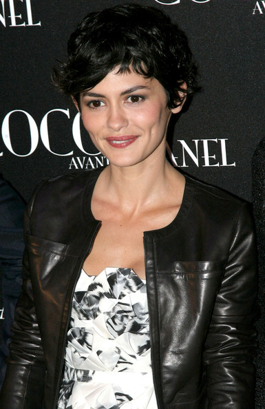 Audrey Tautou's got French chic in the bag