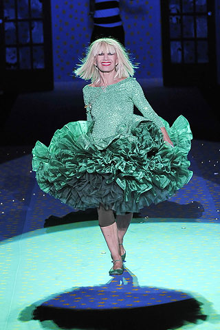 Betsey Johnson not retiring anytime soon