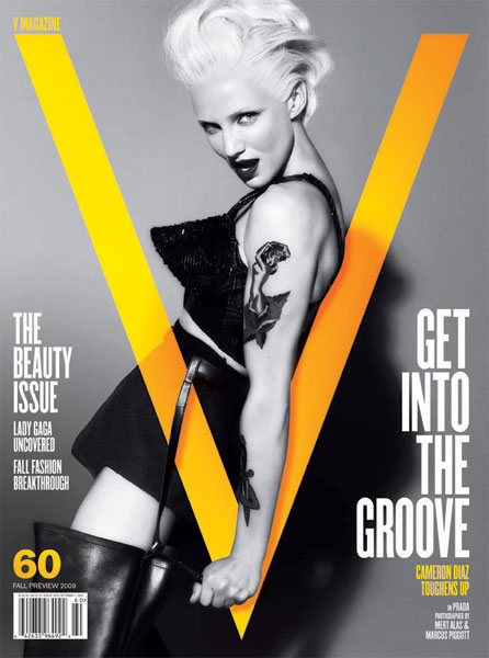Cameron Diaz gets tough for V Magazine