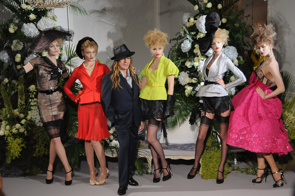 Paris Couture Week AW09: It's bloomin lovely at Christian Dior!