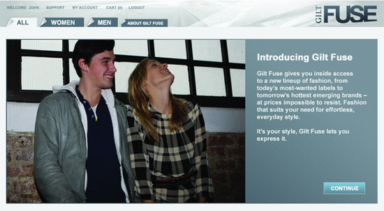 Gilt Groupe launches Gilt Fuse