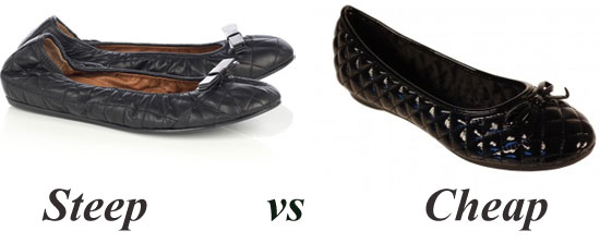 Steep vs Cheap: Lanvin or Linzi?