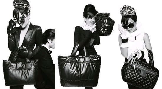 Lily Allen's Coco Cocoon over Chanel