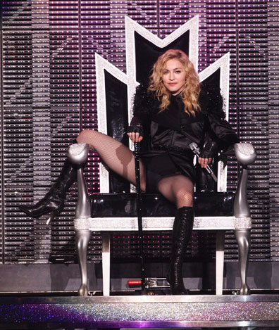 Madonna makes history in Givenchy