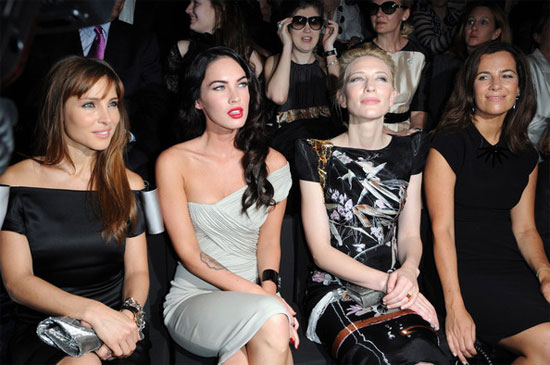 Paris Couture Week AW09: Megan Fox steals the limelight at Armani Prive