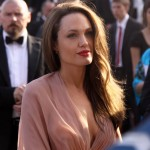 Angelina left dressless