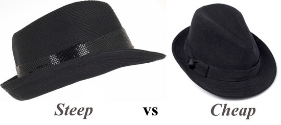 Steel vs Cheap: Hot headgear