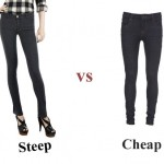 Steep vs Cheap: Denim Leggings