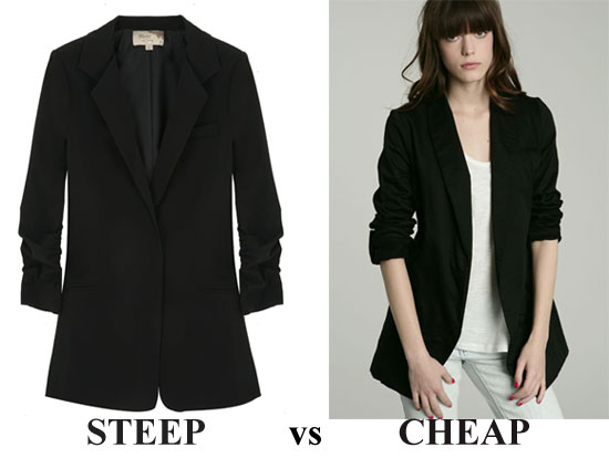 Steep vs Cheap: The Blazer