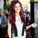Cheryl Cole's gone red