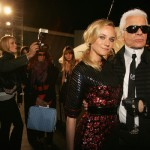 Diane Kruger's found a father in Karl Lagerfeld