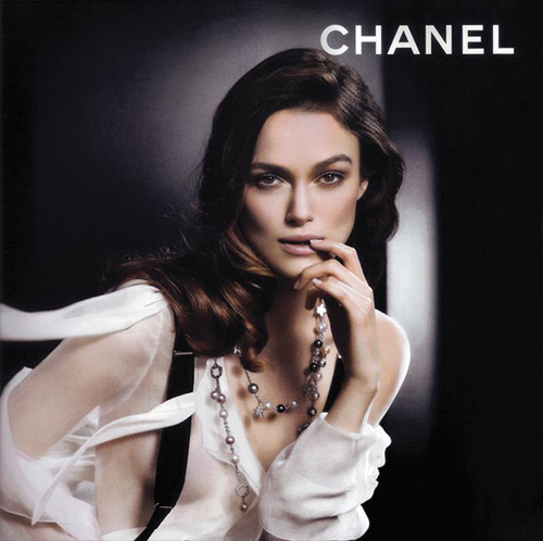 Keira Knightley airbrushed in Chanel ad