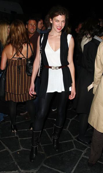 Milla Jovovich's 'sexy' style