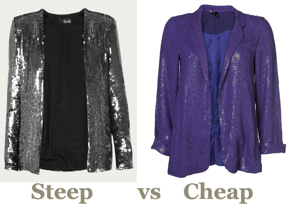 Steep vs Cheap: Statement Sparkle