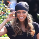 Tyra ditches hair extensions