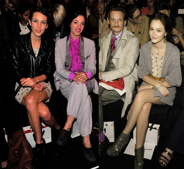 Alexa and Leighton go dotty at Phillip Lim!
