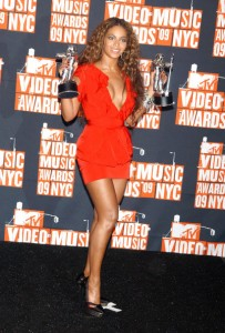 Beyonce succumbs to the celebrity fragrance