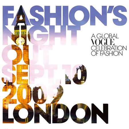 Fashion's Night Out – London
