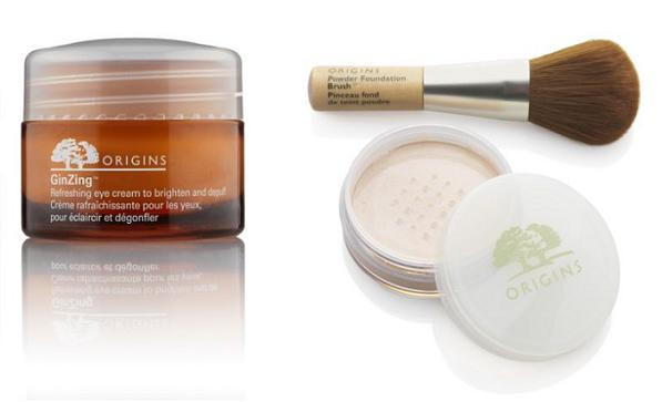 GinZing eye cream; Multi-Grain makeup