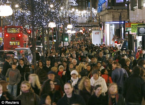Christmas at London's West End