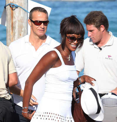 Naomi Campbell's recession worries