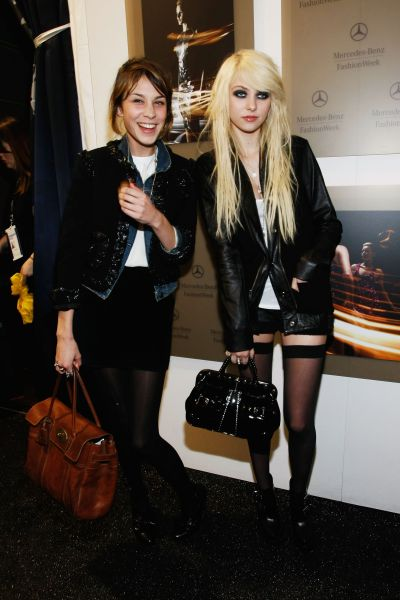 Rock Fashion Week on Spotted  Taylor Momsen And Alexa Chung At New York Fashion Week